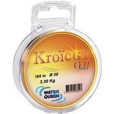 Lignes Water Queen KROIC GT GOLD 25 M 14/100