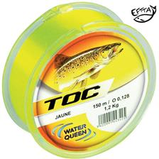NYLON WATER QUEEN SPECIAL TOC JAUNE FLUO - 150M