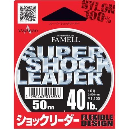 NYLON YAMA TOYO SUPER SHOCK LEADER - 50M