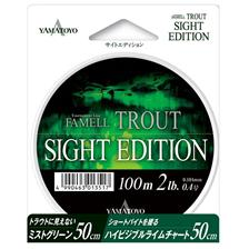 Lines Yamatoyo FAMELL TROUT SIGHT EDITION 100M 16.5/100