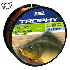 Lines Zebco TROPHY CARPE NOIR 500M 28/100