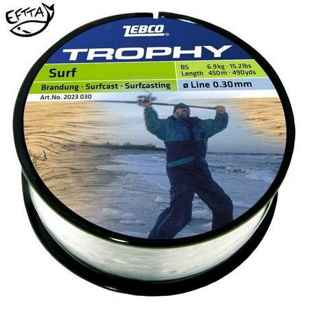 NYLON ZEBCO TROPHY SURFCAST BEACH/STRAND