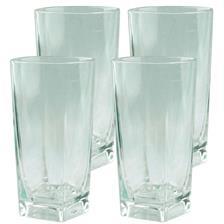 ORANGEADE GLASS EUROMARINE - PACK OF 4