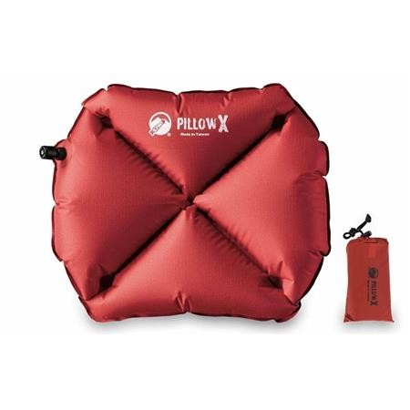 OREILLER GONFLABLE KLYMIT PILLOW X - ROUGE