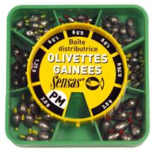 OVAL OLIVETTES DISPENSER BOX SENSAS