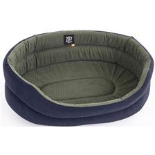 OVAL PLAIN FABRIC DOG BASKET