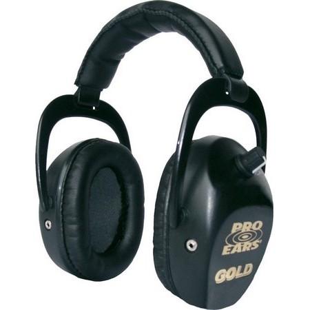 OVERDRIJVENDE HELM ROC IMPORT PRO EARS STALKER GOLD - ZWART