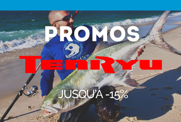 Promos TENRYU, jusqu'à -15% !