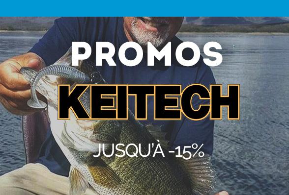 Promos KEITECH, jusqu'à -15% !