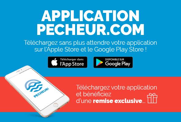 Téléchargez l'Application Pecheur.com !