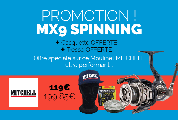 Promotion Moulinet MITCHELL MX9