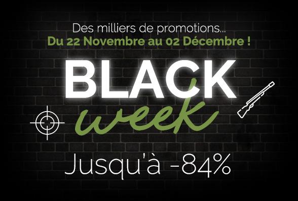 C'est la Black Week sur Chasseur.com !