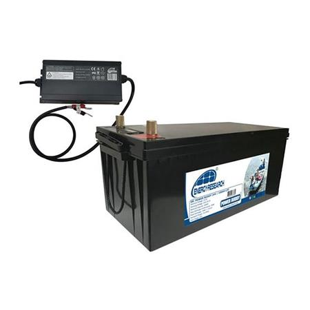 PACK BATTERIE ENERGY RESEARCH LITHIUM 24V 100 AH + CHARGEUR