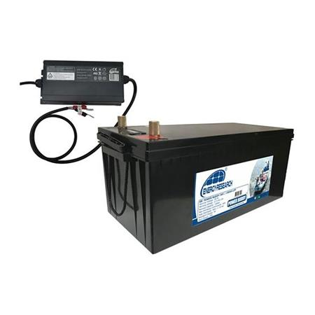 PACK BATTERIE ENERGY RESEARCH LITHIUM 36V 100 AH + CHARGEUR