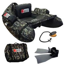 PACK FLOAT TUBE SEVEN BASS CAMOU FIRST