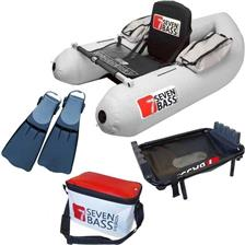 PACK FLOAT TUBE SEVEN BASS INFINITY 160