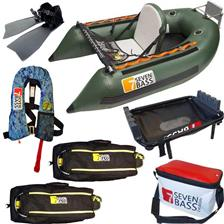 PACK FLOAT TUBE SEVEN BASS USA EXPEDITION