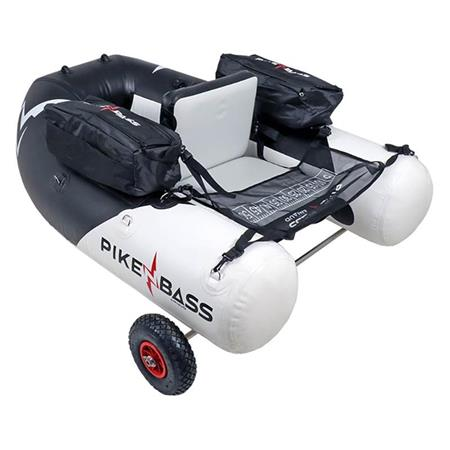 PACK FLOAT TUBE + SUPPORT DE ROUES PIKE'N BASS