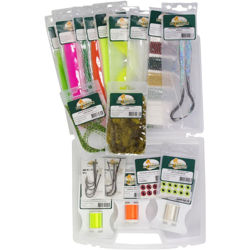 PACK FLY TYING JMC MONTAGE STREAMER - Pack Montage