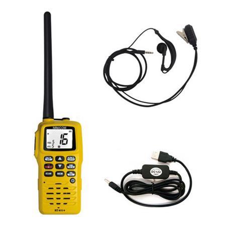 PACK VHF RT411 NAVICOM + MICRO OREILLETTE + ALLUME CIGARE
