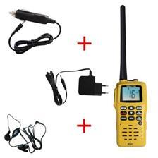 PACK VHF RT411 NAVICOM + MICRO OREILLETTE + ALLUME CIGARE - SPECIAL SALON NAUTIC PARIS