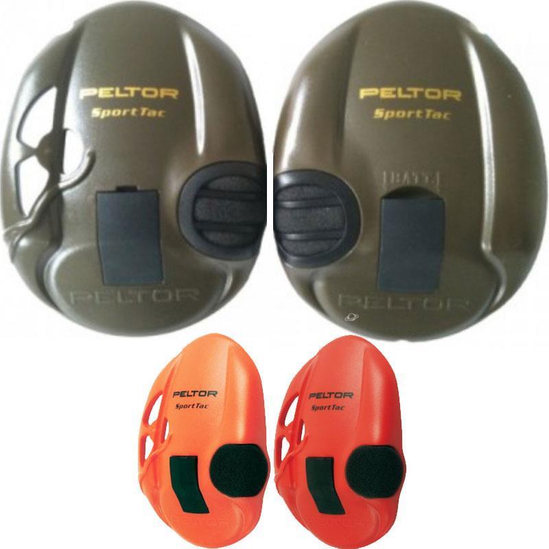 paire de coquilles peltor sportac pour casque anti bruit. Black Bedroom Furniture Sets. Home Design Ideas