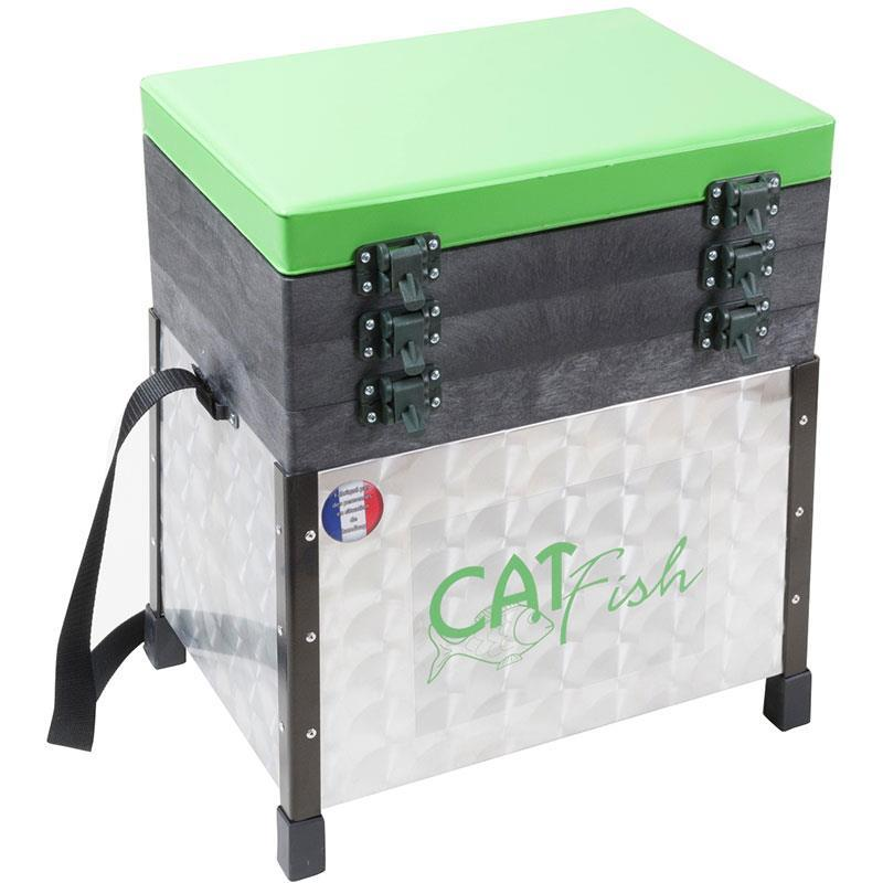 panier siege alu catfish modulable. Black Bedroom Furniture Sets. Home Design Ideas