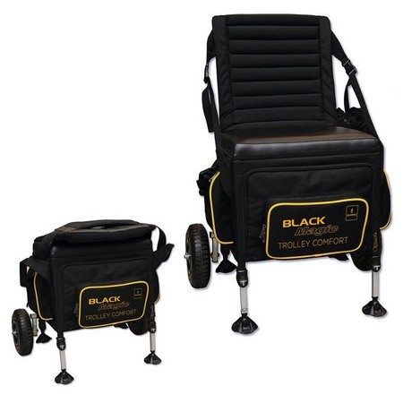 PANIER SIEGE BROWNING BLACK MAGIC TROLLEY COMFORT BOX
