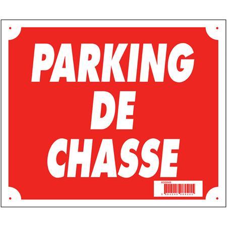PANNEAU SIGNALISATION EUROP ARM PARKING DE CHASSE