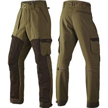 PANTALON DE TRAQUE HOMME HARKILA PRO HUNTER X LEATHER - VERT - 42