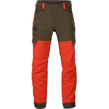 PANTALON DE TRAQUE HOMME HARKILA WILDBOAR PRO - ORANGE/VERT