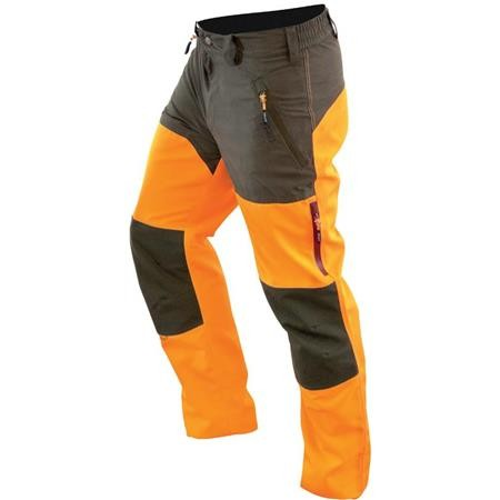 PANTALON DE TRAQUE HOMME HART WILD-T - KAKI/ORANGE