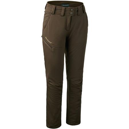 PANTALON FEMME DEERHUNTER LADY MARY TROUSERS - ART GREEN