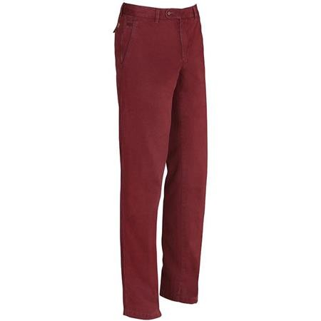 PANTALON HOMME CLUB INTERCHASSE NOEL - FRAMBOISE