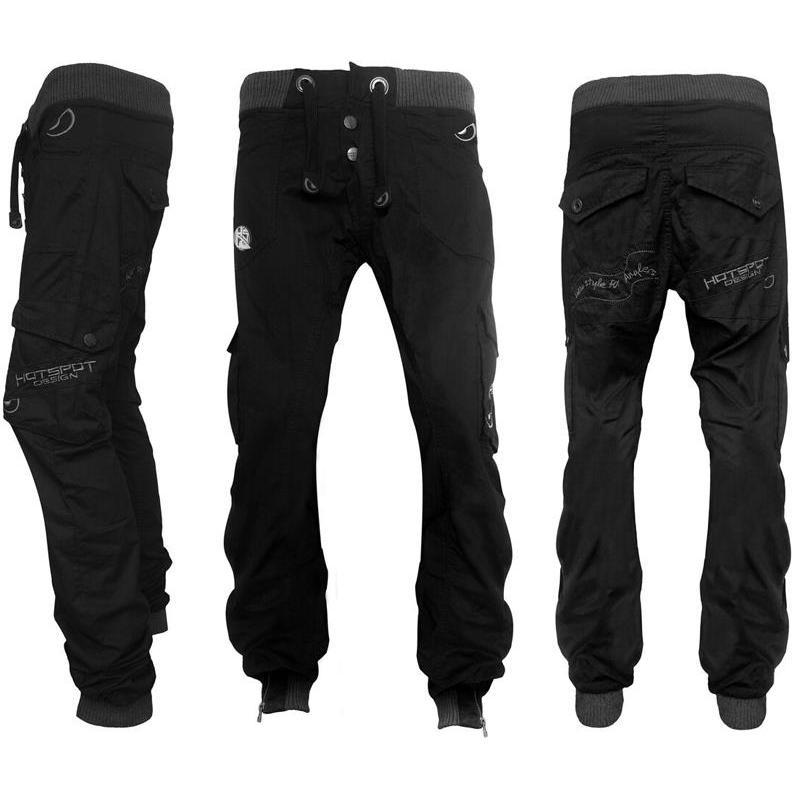 Homme Hsd Noir Spot Pantalon Design Hot sQhCtBrdx