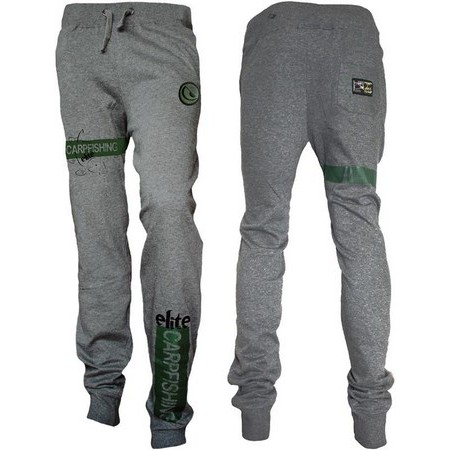 PANTALON HOMME HOT SPOT DESIGN JOGGING CARPFISHING ELITE - GRIS