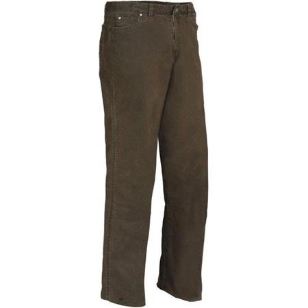 PANTALON HOMME LIGNE VERNEY-CARRON WEEK-END - MARRON