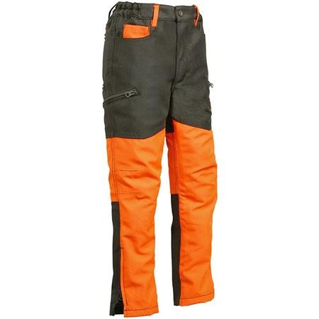 PANTALONE JUNIOR PERCUSSION STRONGER - KAKI/ARANCIONE
