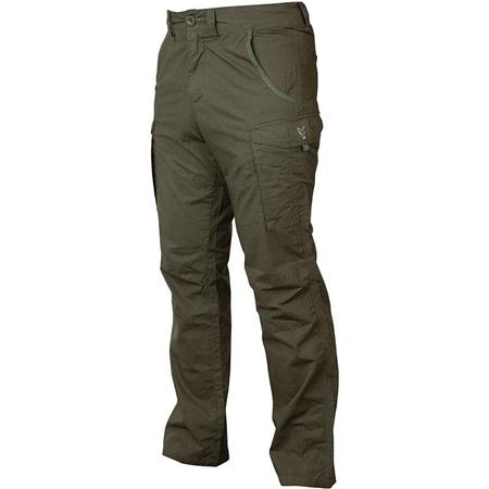 PANTALONE UOMO FOX COLLECTION GREEN/SILVER COMBATS - KAKI