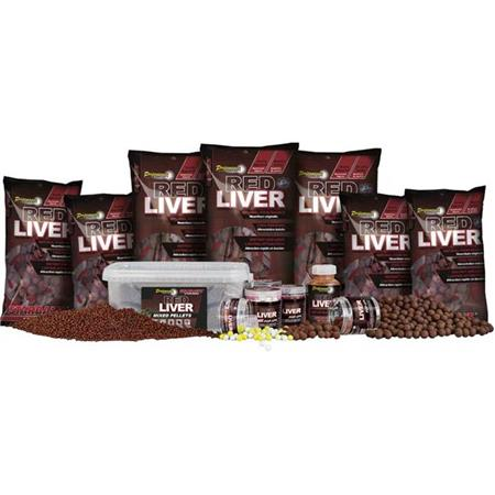 PATE D'ENROBAGE STARBAITS PERFORMANCE CONCEPT RED LIVER PASTE BAITS
