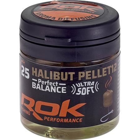 PELLET ARTIFICIEL + TREMPAGE ROK FISHING HALIBUT PELLET PERFECT BALANCE
