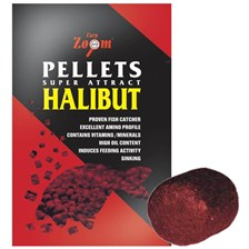 Baits & Additives Carp Zoom SUPER ATTRACT HALIBUT ROUGE 800G O 16MM