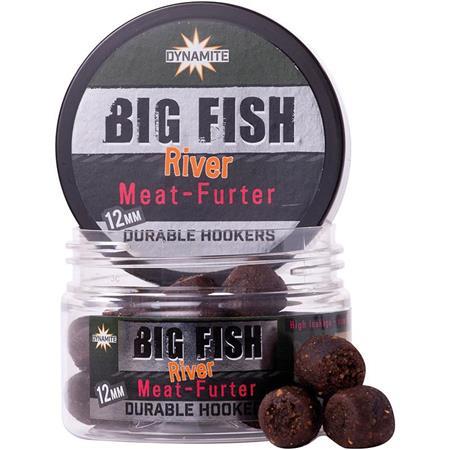 PELLET D'ESCHAGE DYNAMITE BAITS BIG FISH RIVER DURABLE HOOKERS MEAT FURTER