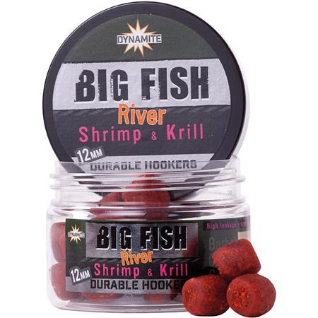 PELLET D'ESCHAGE DYNAMITE BAITS BIG FISH RIVER DURABLE HOOKERS SHRIMP & KRILL