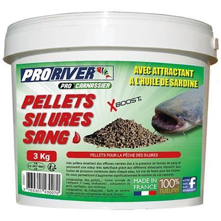 PELLET PRORIVER SANG + BOUTEILLE HUILE NATURELLE