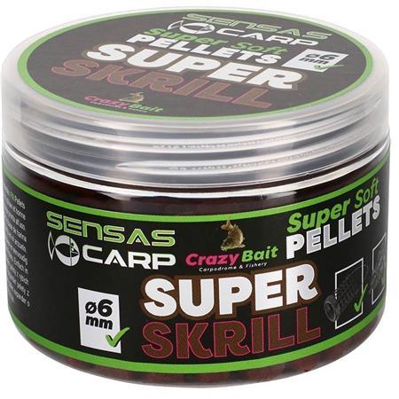 PELLET SENSAS CRAZY BAIT SUPER SOFT PELLETS