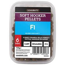 Baits & Additives Sonubaits SOFT HOOKER PELLETS FISHMEAL 8MM
