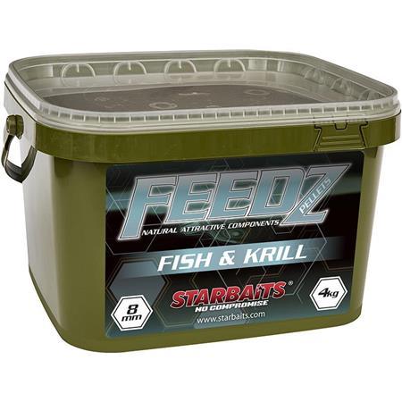 PELLET STARBAITS FEEDZ FISH & KRILL PELLETS MIX