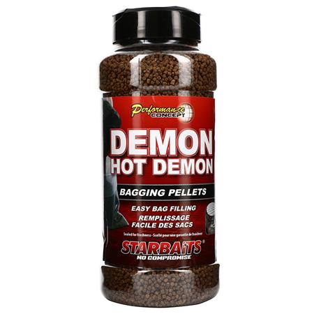 PELLET STARBAITS PERFORMANCE CONCEPT DEMON HOT DEMON BAGGING PELLETS