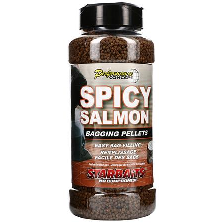 PELLET STARBAITS PERFORMANCE CONCEPT SPICY SALMON BAGGING PELLETS